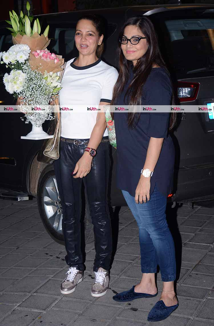 Alvira Khan at Salma Khan's birthday party