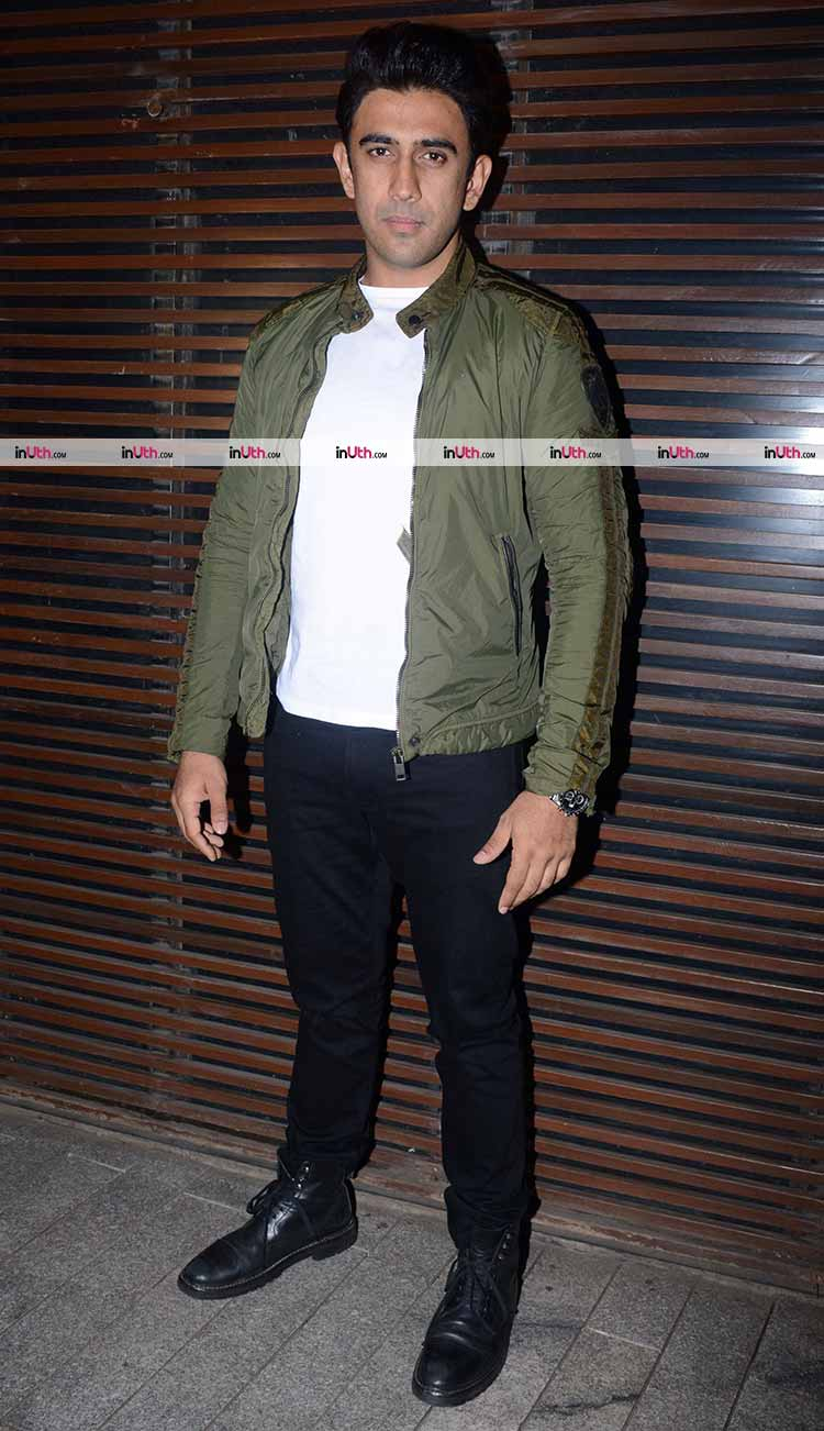 Amit Sadh at Gold wrap up party