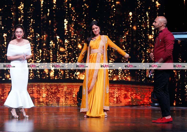 Katrina Kaif imitating Salman Khan on Dance India Dance 6