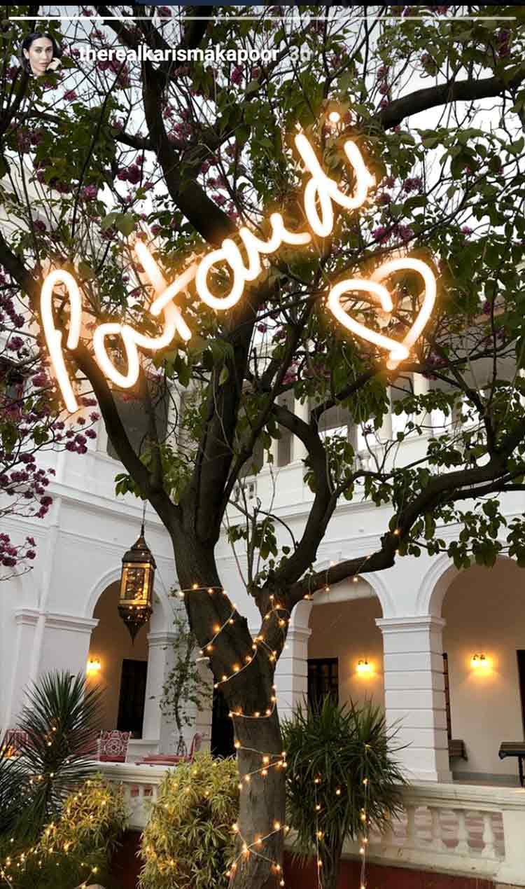 Pataudi palace is all decked up for Taimur's birthday