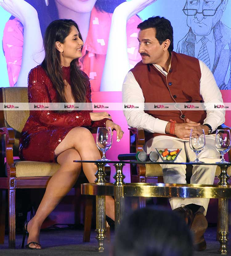 Saif Ali Khan and Kareena Kapoor at the launch of Soha Ali Khan's book