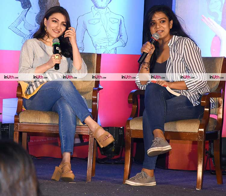 Soha Ali Khan in conversation with Kaneez Surka over her book