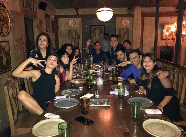 Team Judwaa 2 celebrating its success