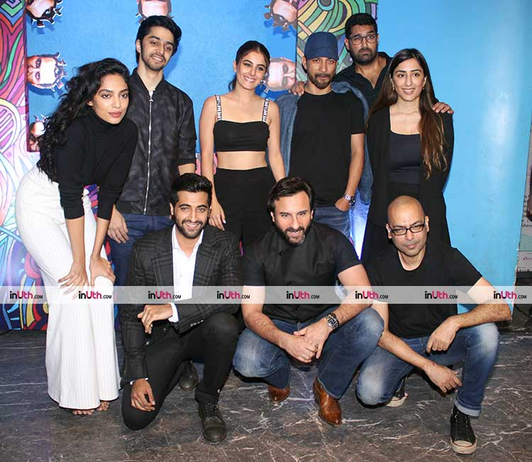Team Kaalakaandi snapped at the trailer launch