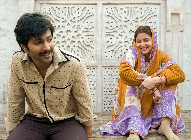 Varun Dhawan and Anushka Sharma look cute in their Sui Dhaaga look