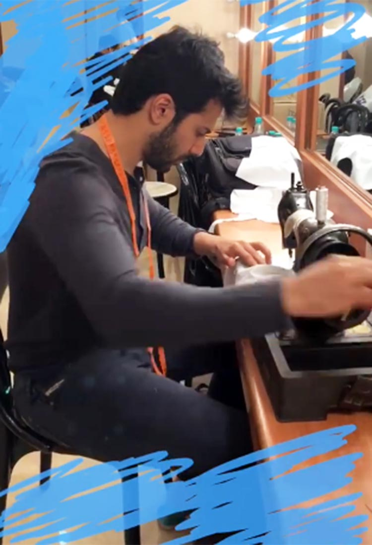 Varun Dhawan is on sewing business for Sui Dhaga