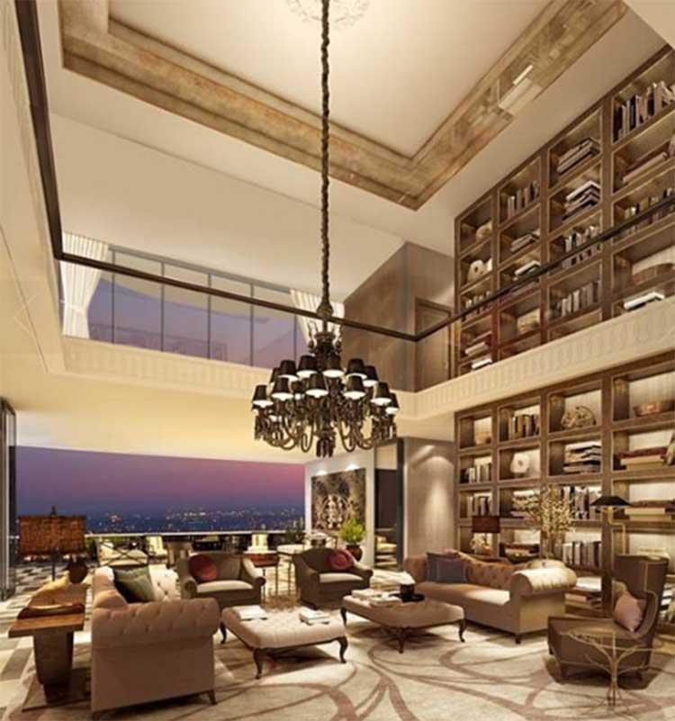 Virat Kohli and Anushka Sharma's apartment has a ceiling height of 13 feet