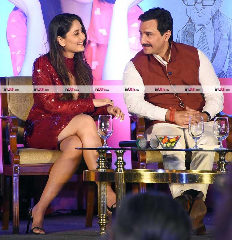 Saif Ali Khan and Kareena Kapoor at the launch of Soha Ali Khan's book