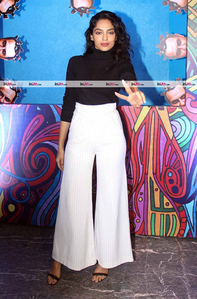 Sobhita Dhulipala at Kaalakaandi trailer launch