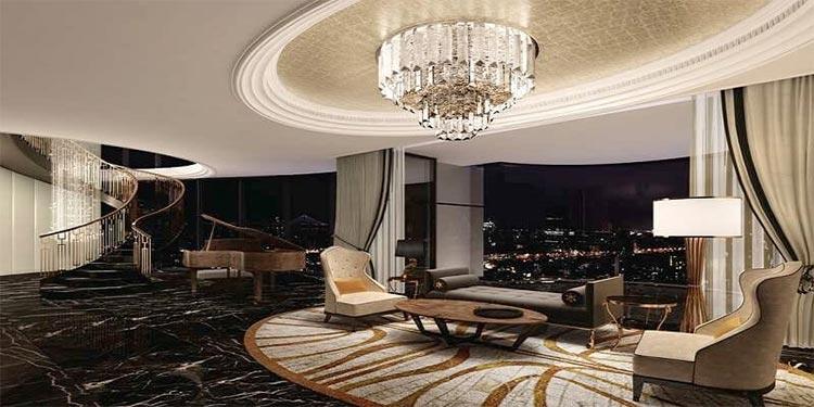 The living space of Virat Kohli and Anushka Sharma's new apartment is surreal