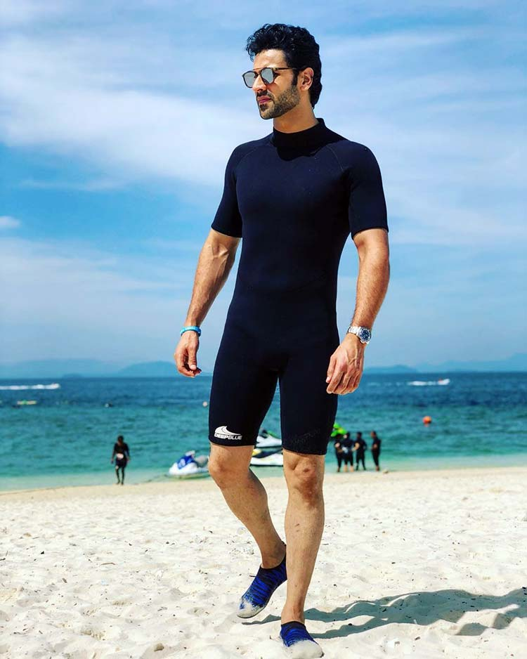 Vivek Dahiya is having 'Lt. Mitch kind of feel' in Thailand