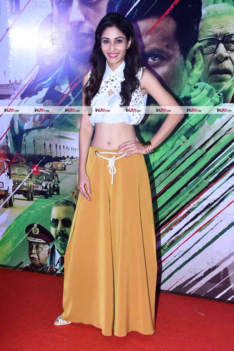Pooja Chopra at Aiyaary trailer launch