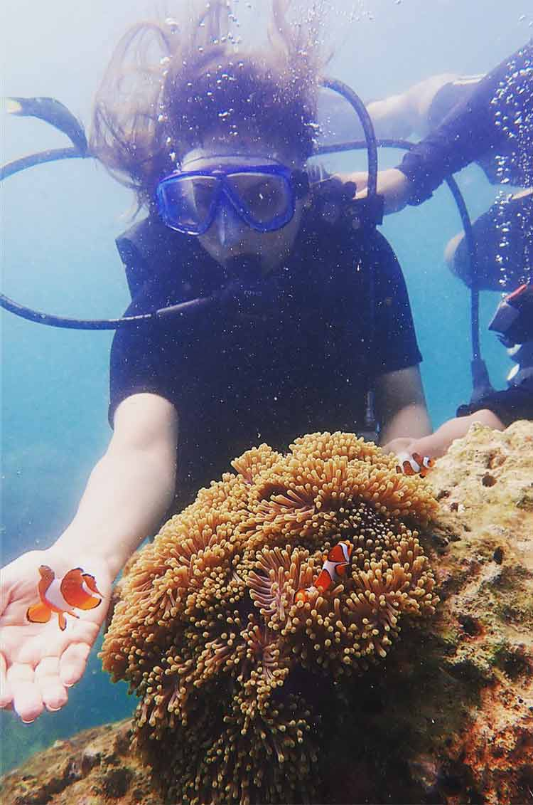 Divyanka Tripathi 'found Nemo' on her Maldives visit