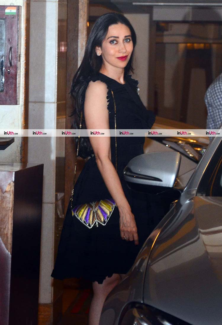 Karisma Kapoor at Saif Ali Khan and Kareena Kapoor's Christmas party