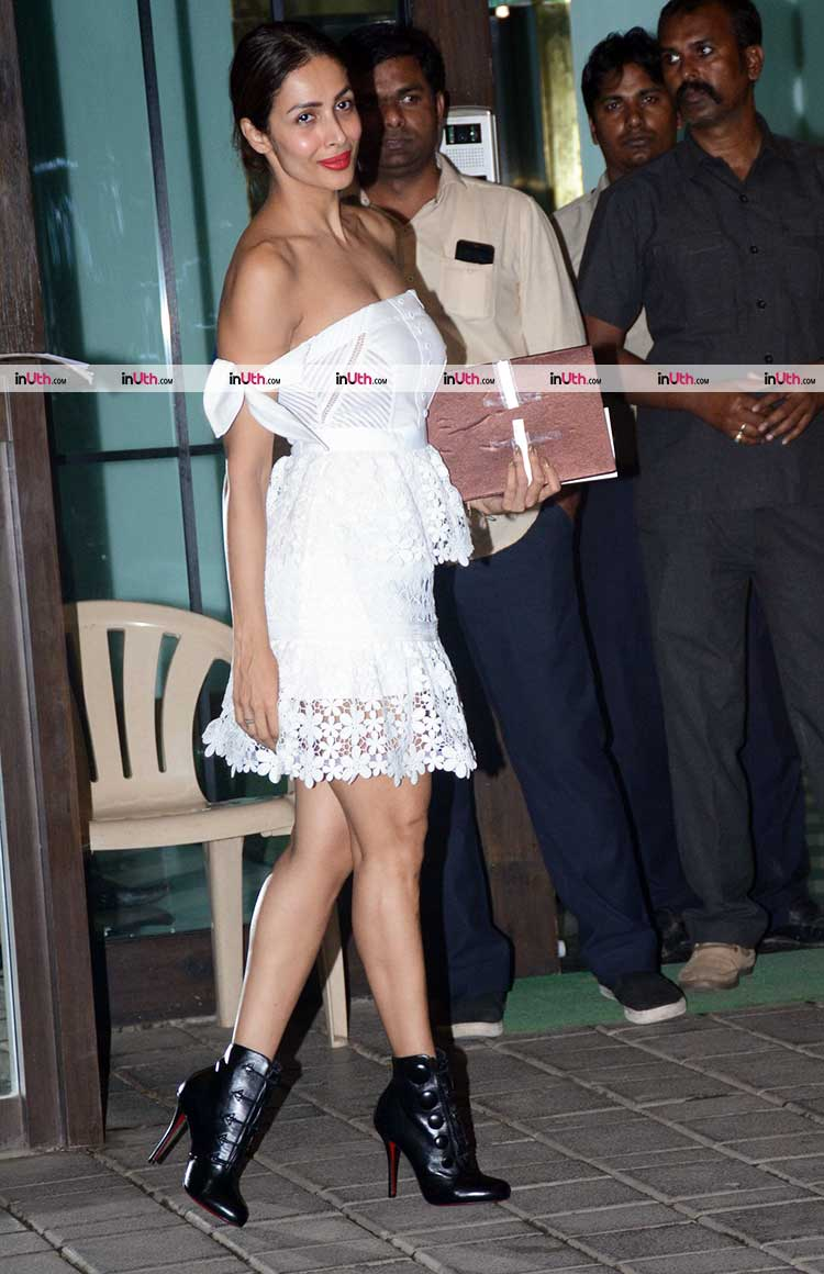 Malaika Arora looked hot at Salma Khan's birthday party