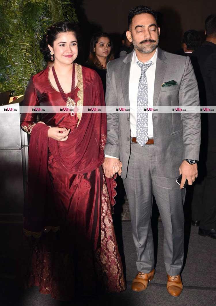 Meher and Manav Vij at Virat Kohli-Anushka Sharma's Mumbai wedding reception