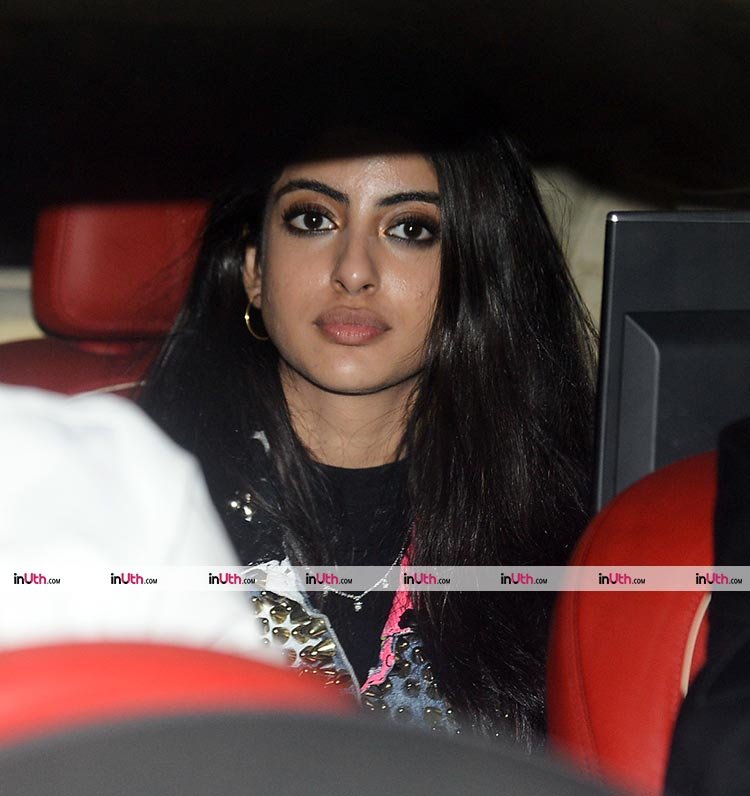 Navya Naveli Nanda at Karan Johar's Christmas party