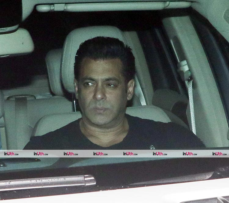 Salman Khan at the special screening of Tiger Zinda Hai