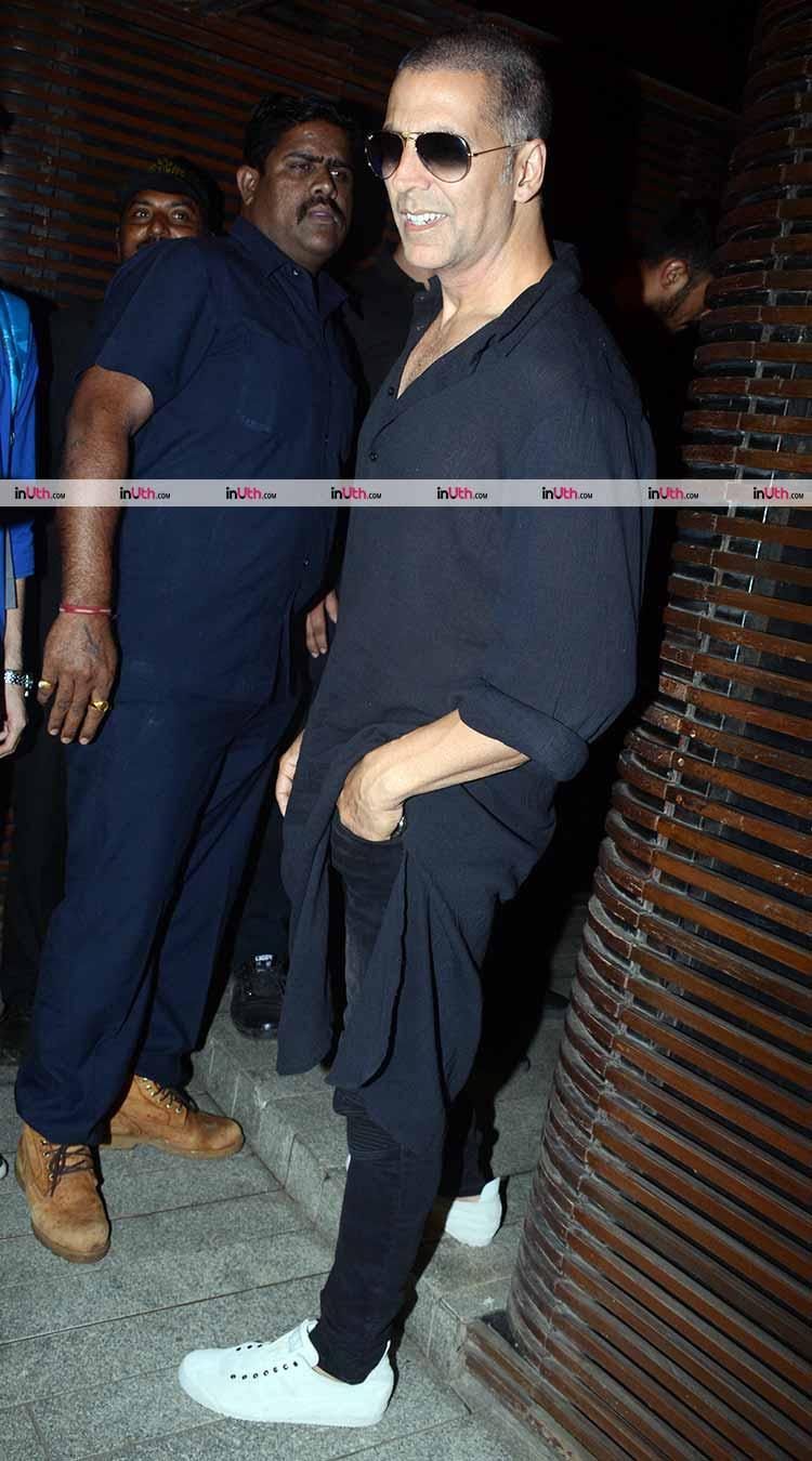 Akshay Kumar at Gold wrap up party