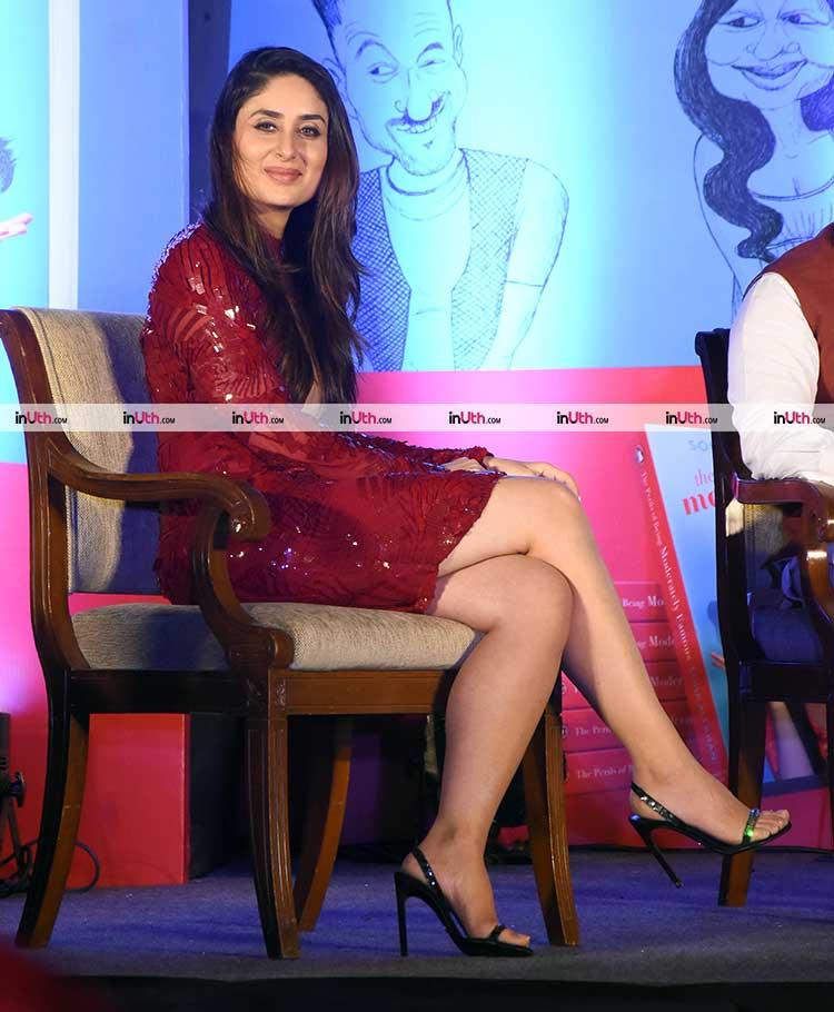 Kareena Kapoor Khan at the launch of Soha Ali Khan's book