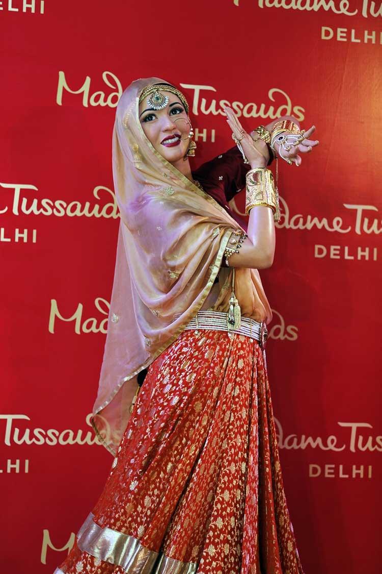 Madhubala's wax statue at Madame Tussauds Delhi