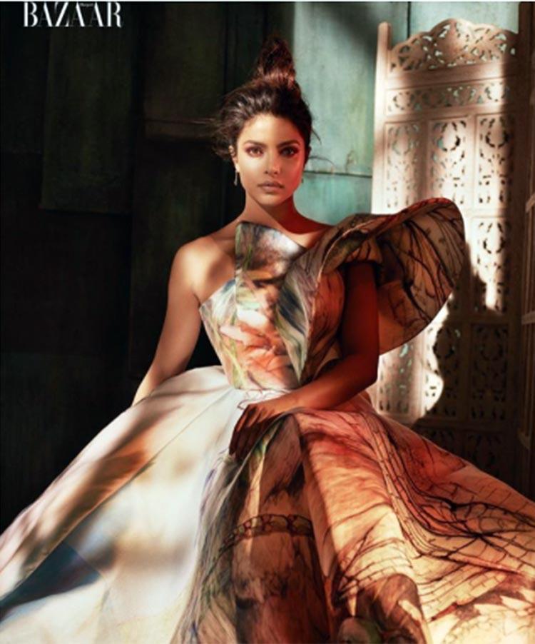 Priyanka Chopra is stunning in Harper's Bazaar Vietnam magazine