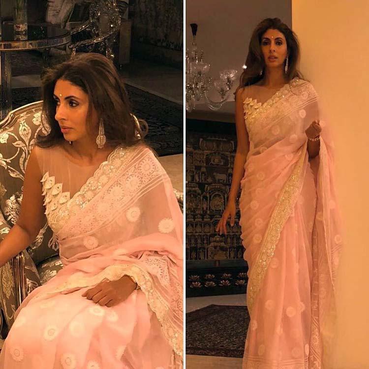 Shweta Nanda in Abu Jani Sandeep Khosla for Virat Kohli-Anushka Sharma reception