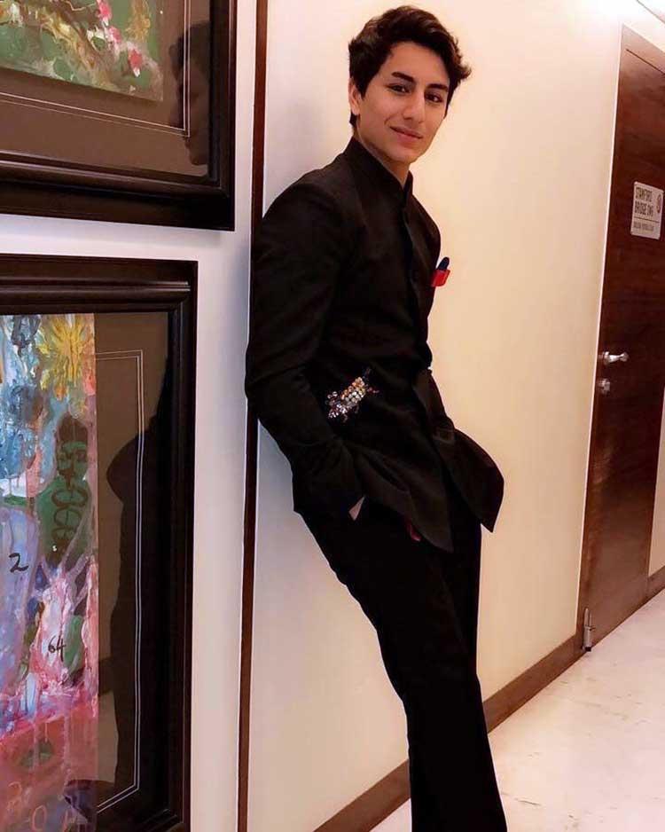 Ibrahim Khan in Abu Jani Sandeep Khosla for Virat Kohli-Anushka Sharma reception
