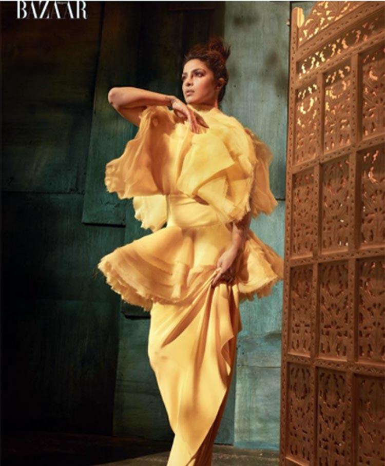 Priyanka Chopra at her sexy best in Harper's Bazaar Vietnam magazine