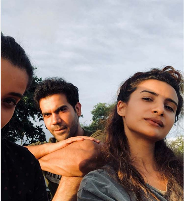 Rajkummar Rao with Patralekha in Thailand for new year vacation