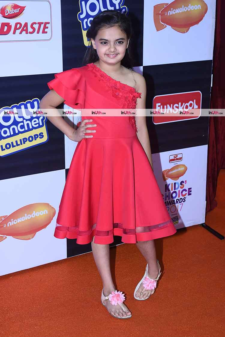 Ruhanika Dhawan at the Nickelodeon Kids Choice Awards 2017