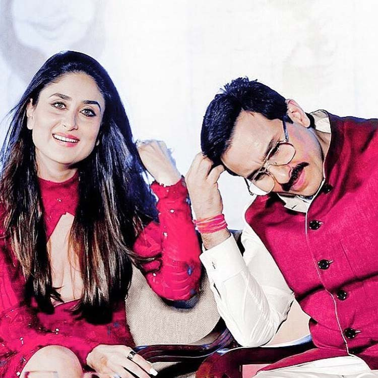 Kareena Kapoor and Saif Ali Khan's candid moment
