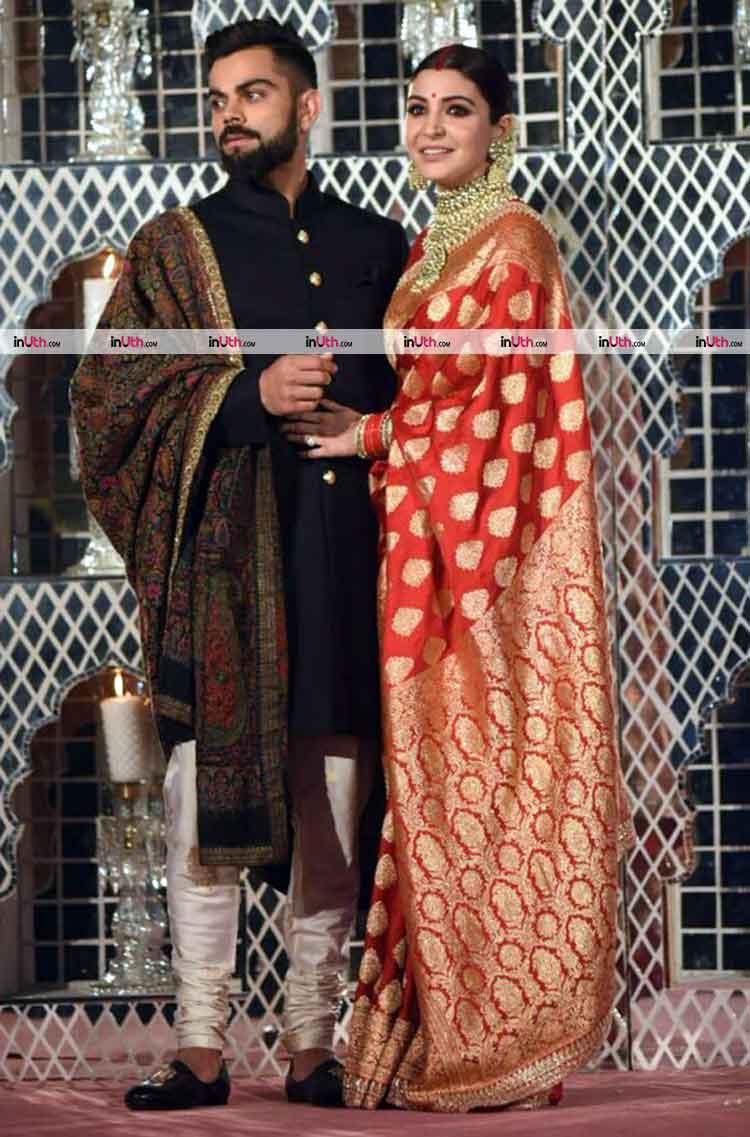 Virat Kohli and Anushka Sharma hosting their Delhi wedding reception party