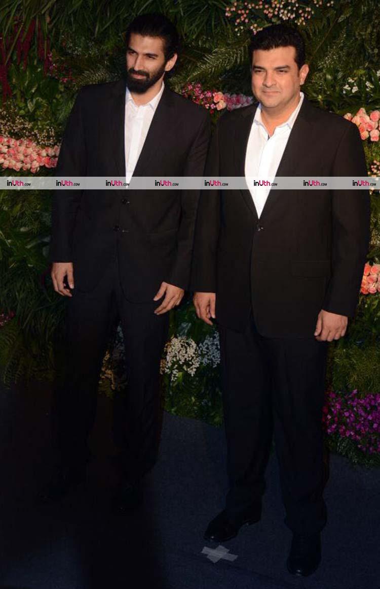 Aditya and Siddharth Roy Kapur at Virat Kohli-Anushka Sharma's reception