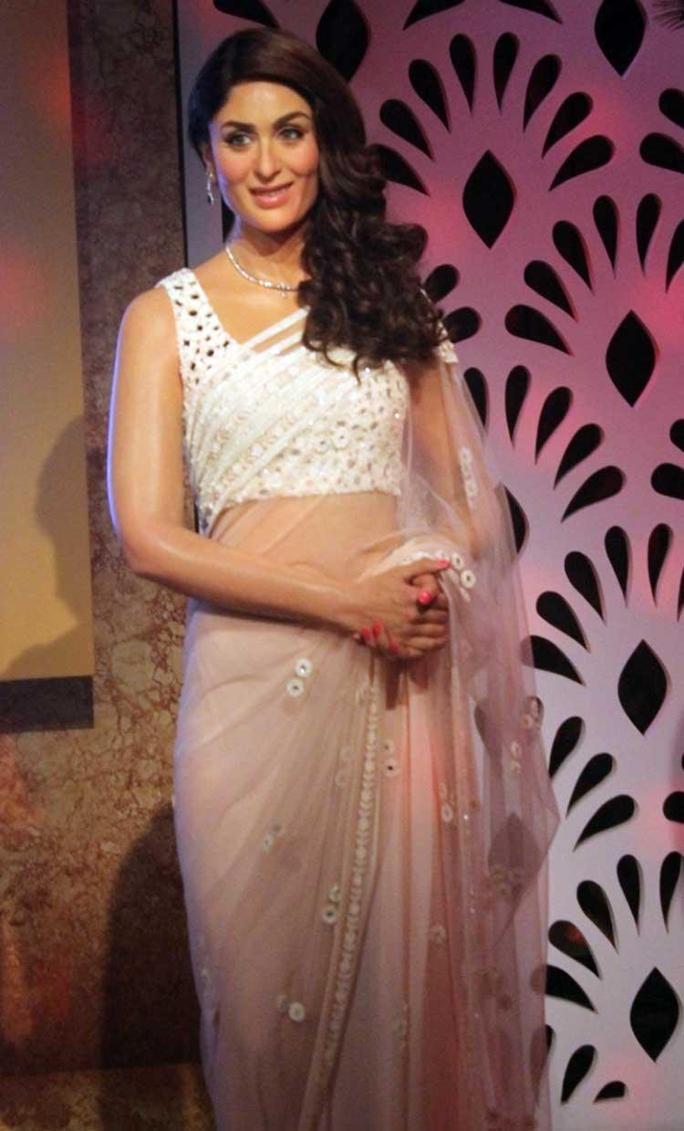 Kareena Kapoor's wax statue at Madame Tussauds Delhi