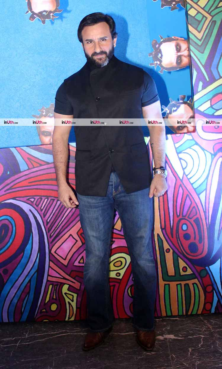 Saif Ali Khan at Kaalakaandi trailer launch