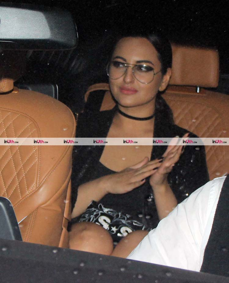 Sonakshi Sinha at Karan Johar's Christmas party