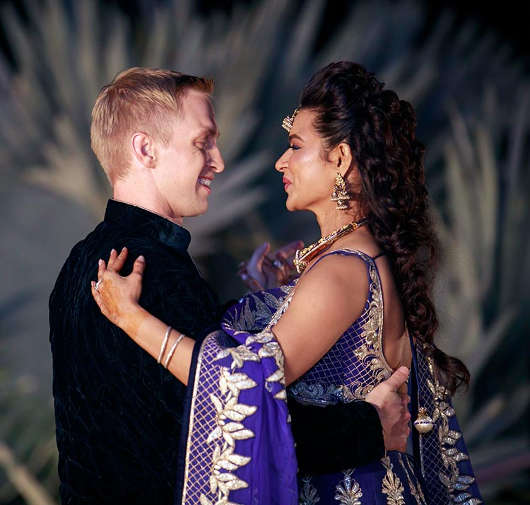 Aashka Brent Goble S Dreamy Wedding Pictures Bandagi: Aashka Goradia And Brent Goble On Their Sangeet Night