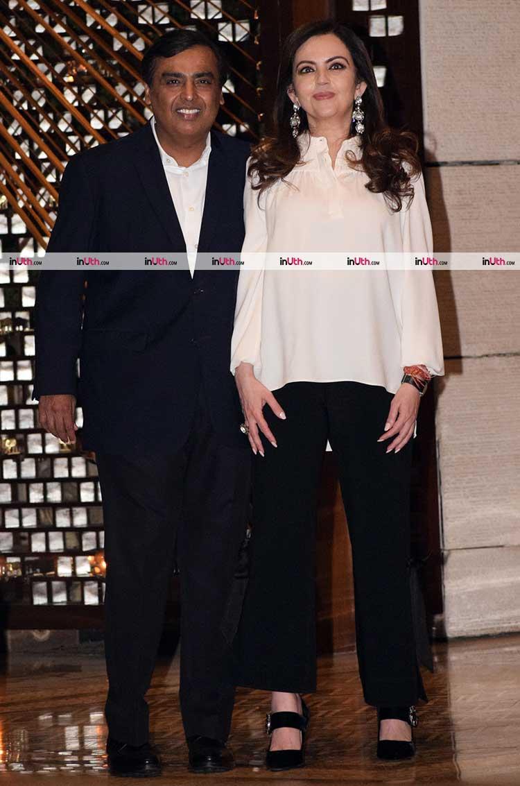Bollywood celebs at Mukesh Ambani's party photos | Alia Bhatt