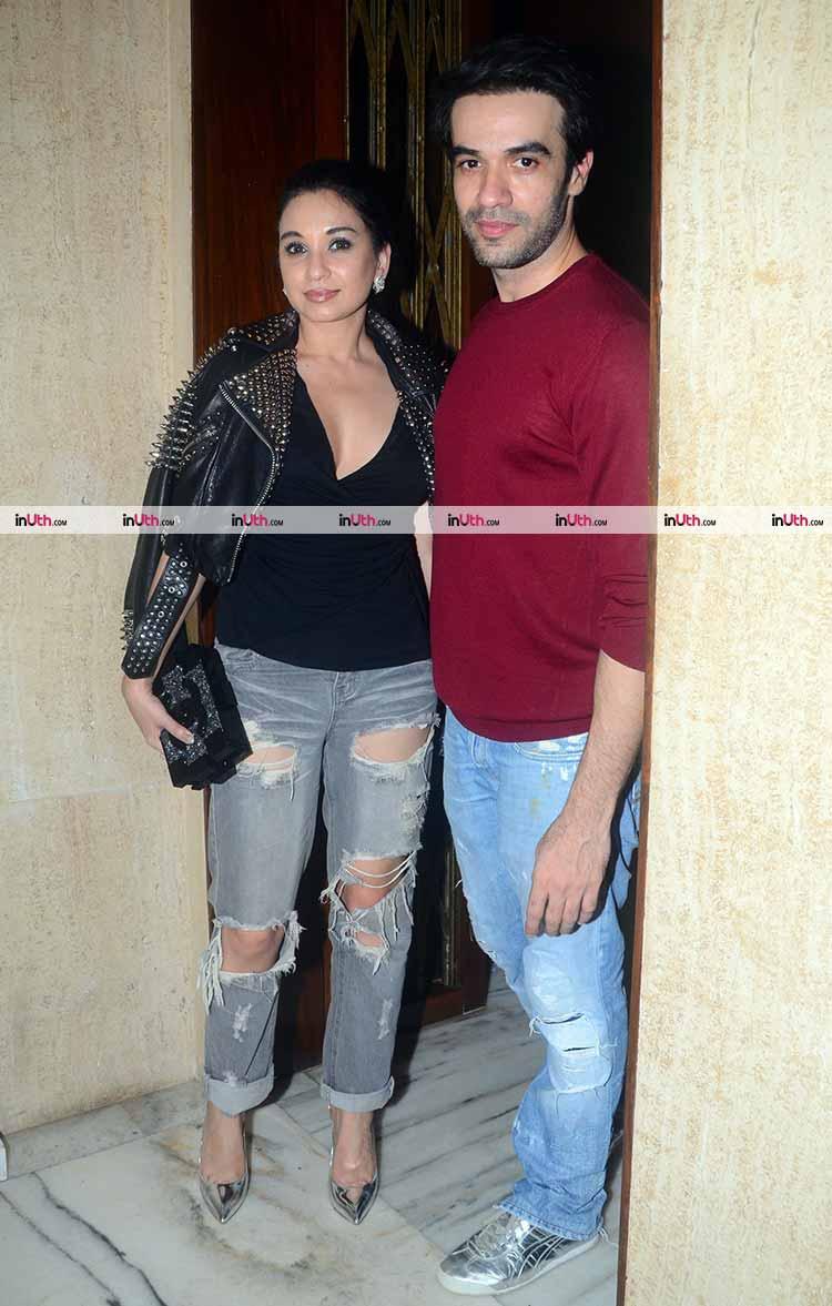 Punit Malhotra at Manish Malhotra's birthday party