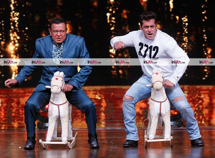 Salman Khan and Mithun Chakraborty on Dance India Dance 6