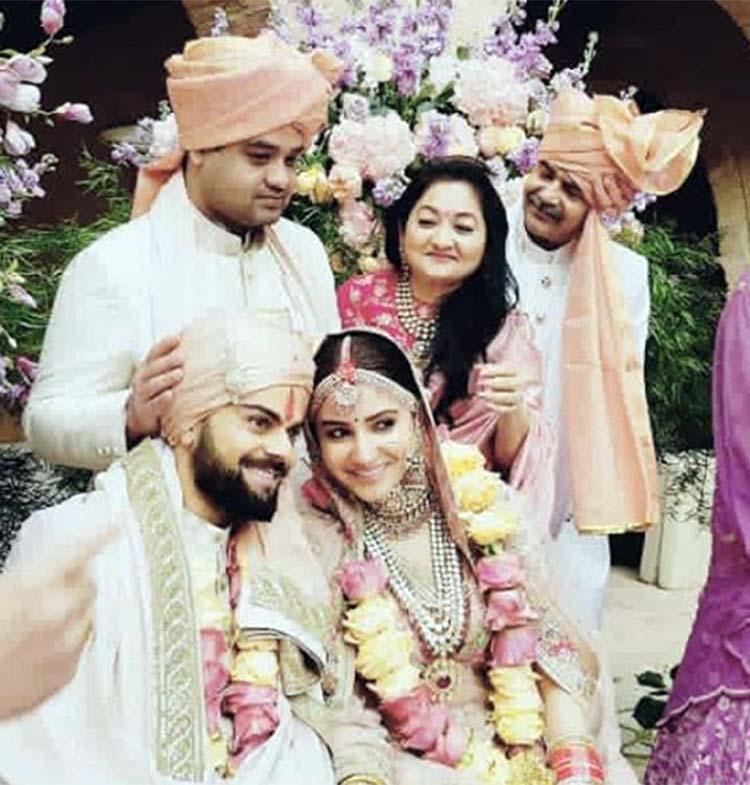 Virat Kohli and Anushka Sharma are defining love