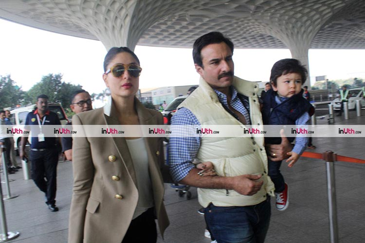Saif and Kareena to celebrate Taimur's birthday in Pataudi