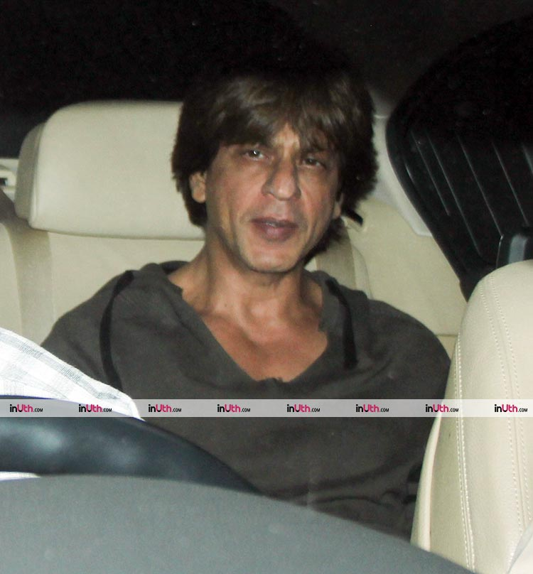 Shah Rukh Khan at Karan Johar's Christmas party