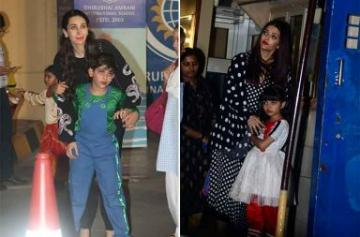 In Pics: AbRam and Aaradhya's school annual day