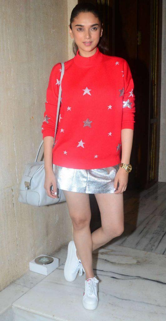 Aditi Rao Hydari at Manish Malhotra's birthday bash