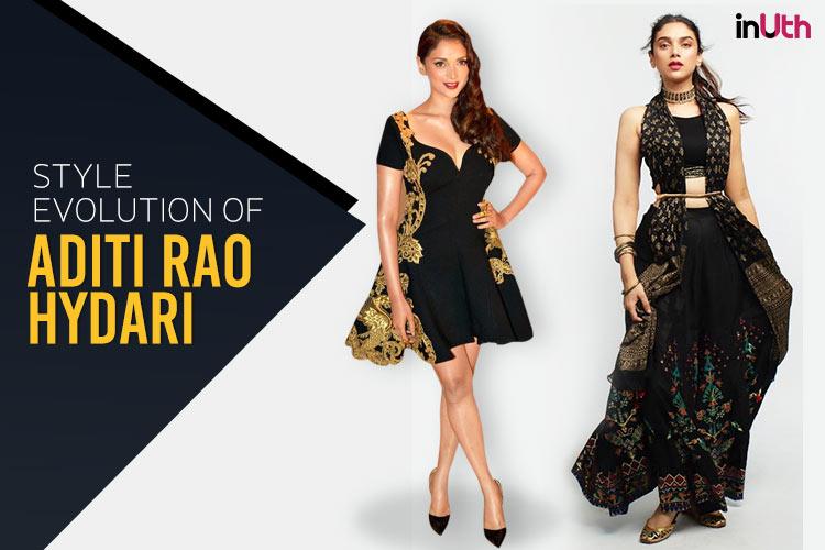 Style evolution of Aditi RaoHydari