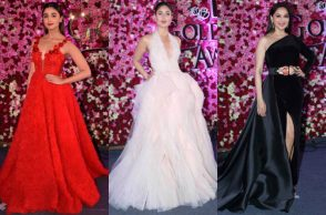 Alia Bhatt, Kareena Kapoor, Sridevi at Lux Golden Rose Awards 2017