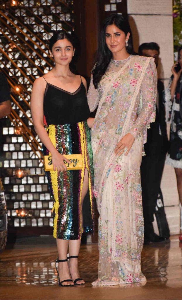 Alia Bhatt and Katrina Kaif at the Ambani bash