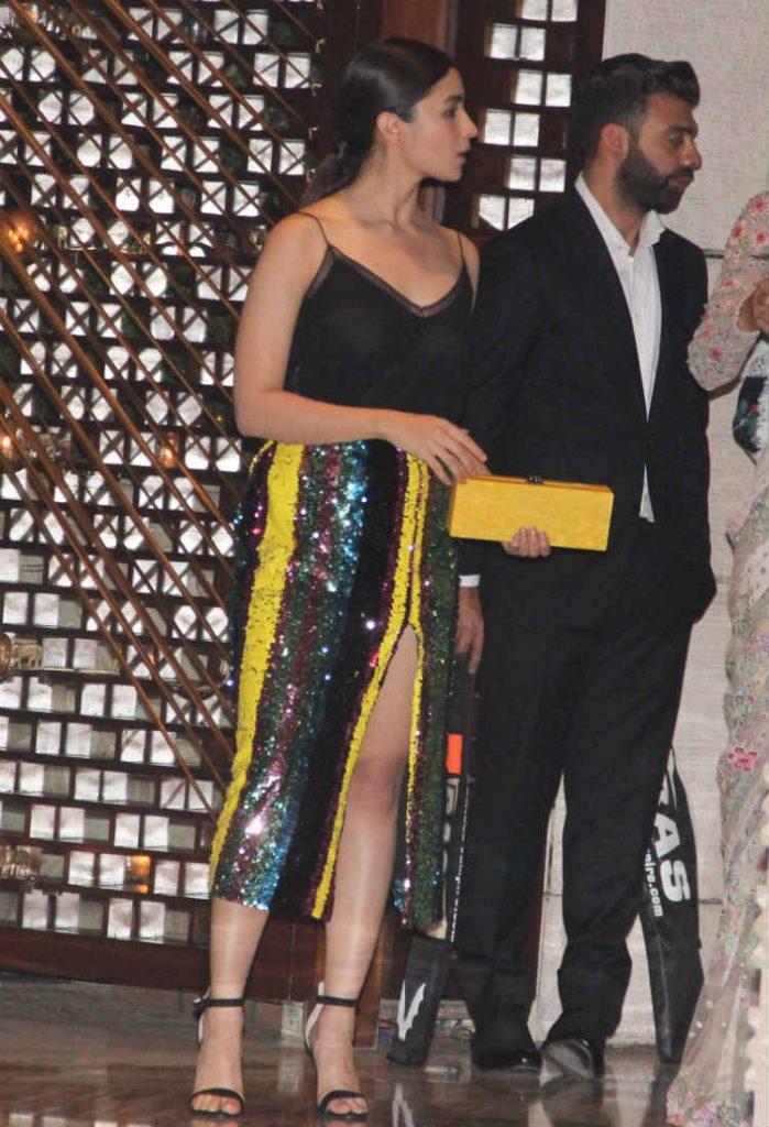 Alia Bhatt at the Ambani bash